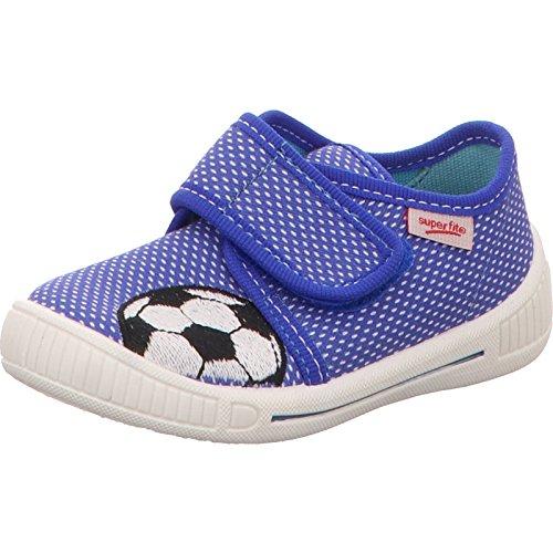 Superfit 0-00247-84 - Zapatillas de estar por casa para niño Azul