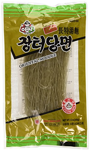 2 packs - Assi Glass Noodles, Korean Vermicelli, Dangmyun, Sweet Potato Starch (12 Ounces) ()