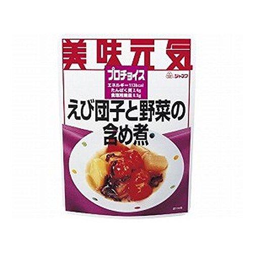 Kewpie Janef Pro-Choice Steamed Shrimp Dumplings and Vegetables -Low Protein Diet- (Dumplings Shrimp)