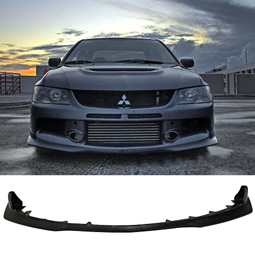 06-07 Mitsubishi Evo 4 Door J-Type Add-On Front Bumper Lip Urethane Front Fascia Replacement Kit