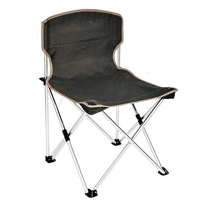 MNLXL camping Silla Plegable De Aluminio para Exteriores ...