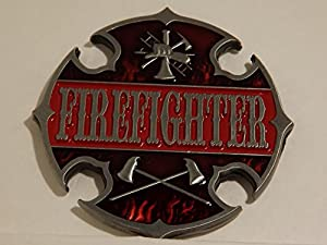 Firefighter Challenge Coin - Antique Silver Plated Edition from Thin Line Custom Graphics