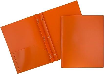 JAM peso medio de papel biodegradable plástico carpetas: Amazon.es ...