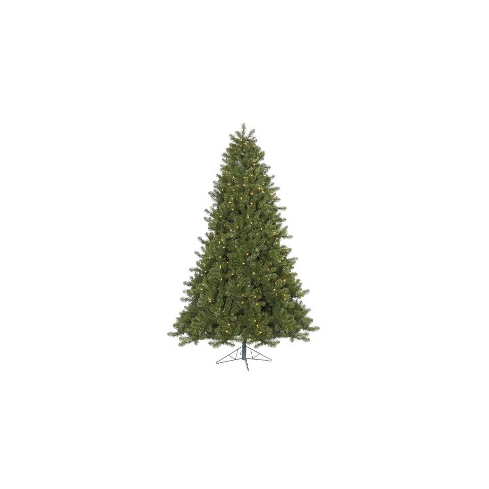 7.5 Pre Lit Ontario Spruce Artificial Christmas Tree  Multi Color Dura Lights