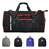 BAGSMART Foldable Duffel Overnight Bag Travel Weekend Bag 40L