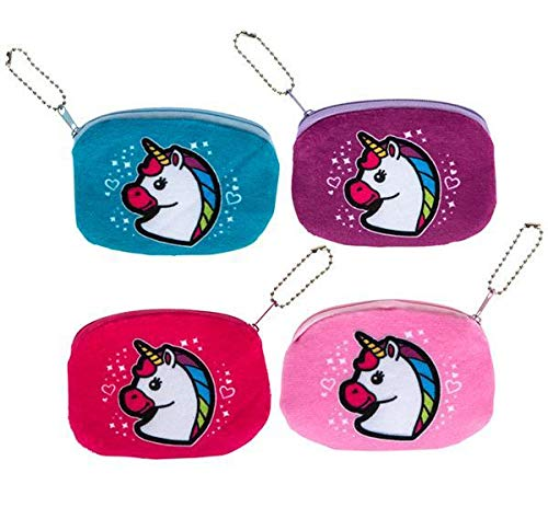 DollarItemDirect 3.25'' Unicorn Coin Purse, Case of 288