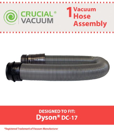 Including Assembly (Dyson DC17 Replacement Suction and Complete Attachment Hose Assembly; Designed To Fit All Dyson DC17 (DC-17) Vacuum Cleaners including Dyson DC17 Animal, DC17 Asthma & Allergy, DC17 Total Clean; Compare)