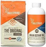 Bulletproof Upgraded Coffee 12 OZ - Brain Octane Edition 16 fl OZ, Starter Kit