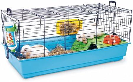 Nero 3 Deluxe - Jaula para conejo: Amazon.es: Productos para mascotas