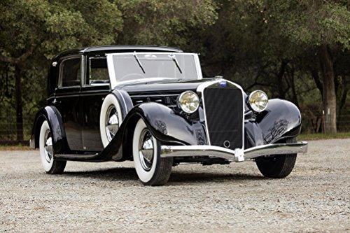 delage-d8-100-coup-chauffeur-par-franay-1936-car-print-on-10-mil-archival-satin-paper-black-front-si