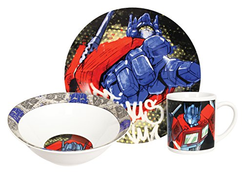 Hasbro Transformers Water - Hasbro Transformers Optimus Prime Dinner Set, Multicolor, 3-Piece