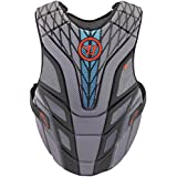 Warrior Burn Chest Pad, Gray, XX-Small