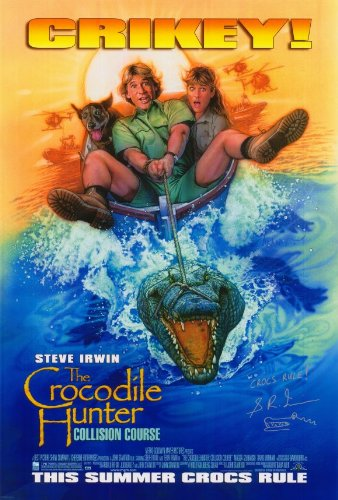 The Crocodile Hunter: Collision Course Poster Movie 11x17 Steve Irwin Terri Irwin Magda Szubanski ()