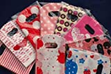 50pcs Wholesale Lots Pretty Mixed Pattern Plastic Gift Bag Shopping Bag 15 X 9CM