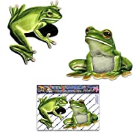 2 x Frog Animal Small Stickers Decals Pack for Car Truck Caravan - ST00058_SML