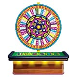 Wheel Of Fortune Casino Prop (both sheets create 1 prop) Party Accessory  (1 count) (2/Pkg), Health Care Stuffs