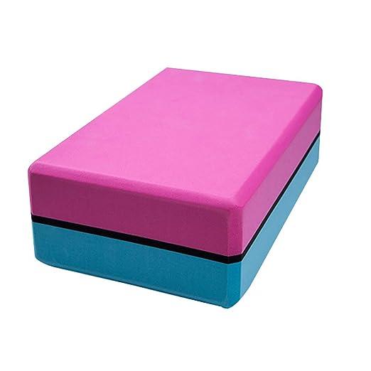 LuMon Yoga Bloques, Doble Color Yoga Bloques, Eva Espuma ...