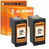 Gorilla-Ink 1 printer cartridge compatible with HP-350XL | Black 30ml content