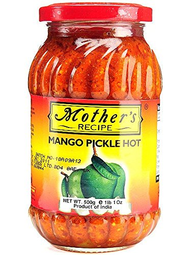 MOTHERS RECIPE MANGO HOT 500 product image