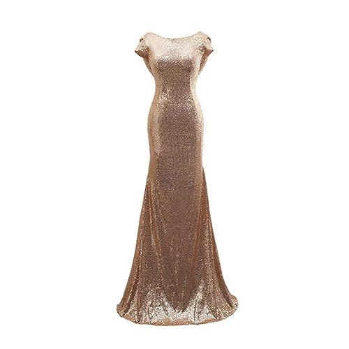 Gold Mermaid Dress: Amazon.com