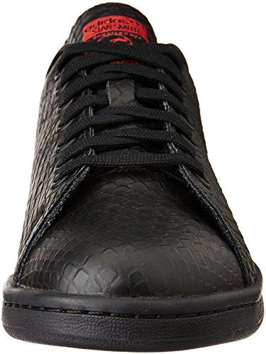 Hombre Scarle Adidas Cblack Cblack Negro Zapatillas para Stan Smith WrIgW