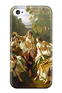 Series Skin Case Cover For Iphone 4/4s(painting Artistic)