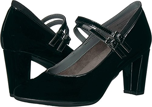 Shoes Broadway (Aerosoles Women's Broadway Ave Pump, Black Combo, 9 M US)