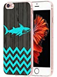 shark iphone 6 case - MUQR Case For Iphone 6S Plus & Cover For 6S Plus Replacement Skin Rubber Gel Silicone Slim Drop Proof Protection Protector For Iphone 6/6S Plus & Chevron Shark Animal Vintage