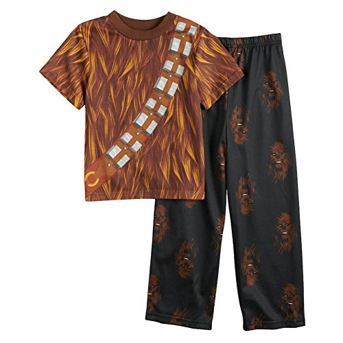 Star Wars Dress Like Chewbacca Pajama For Little Boys (6)]()