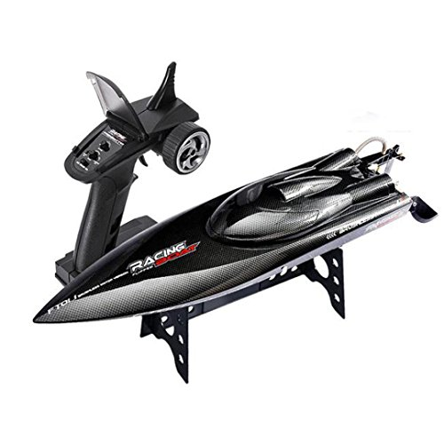Dreamyth NEW Feilun FT011 65CM 2.4G Water Cooled High Speed Brushless Motor RC Racing Boat (Black) by Dreamyth