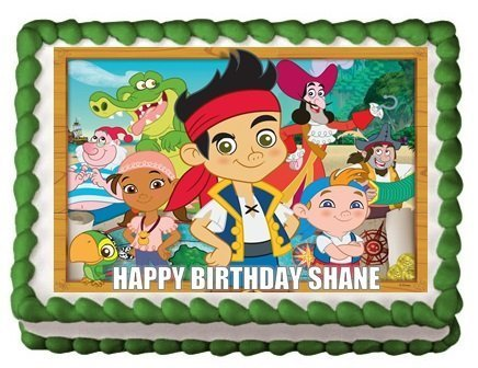 JAKE AND THE NEVERLAND PIRATES Edible Image Frosting