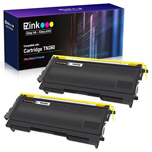 E-Z Ink (TM) Compatible Toner Cartridge Replacement for Brother TN350 TN-350 TN 350 to use with Intellifax 2820 Intellifax 2920 HL-2070N HL-2040 DCP-7020 MFC-7820n (Black, 2 Pack) (Brother Toner 2820)