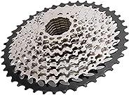 10 Speed Cassette, 11‑42T MTB Bike Cassette Sprocket Flywheel Bike Replacement Accessory