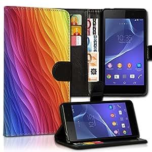 Wallet Wicostar–Funda Case Funda Carcasa diseño Funda para Samsung Galaxy A5–Diseño Flip mvd150
