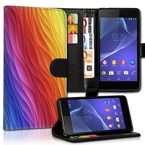 Wallet Book Style Flip Handy Tasche Case Schutz Hülle Schale Motiv Etui für Apple iPhone 4 / 4S - Design Flip MVD150