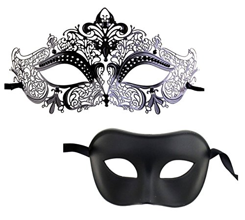 Luxury Mask Couple's Venetian Masquerade Mask -