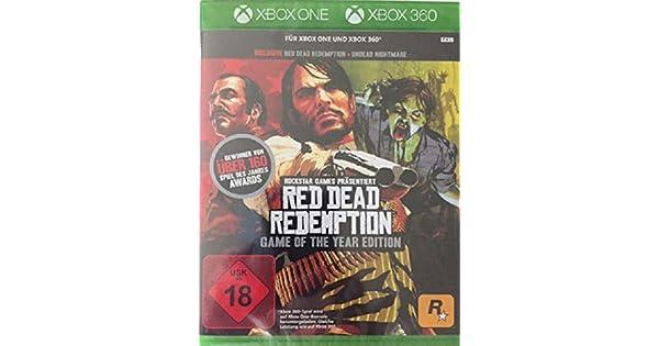 Red Dead Redemption GOTY Classics - Xbox 360 [Importación alemana ...