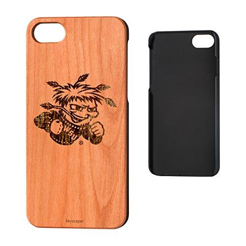 (Wichita State University Cherry Wood iPhone 7/iPhone 8 Case NCAA)