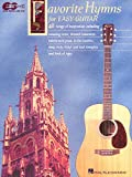 Favorite Hymns for Easy Guitar, Hal Leonard, 0793574285