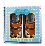 Wee Squeak Toddler Squeaky Shoes Fox Orange Size 7
