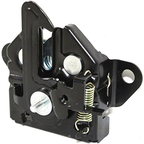 Diften 117-A0270-X01 - New Hood Latch Lock Black Mazda Protege 95 98 (Mazda Protege Hood Latch)