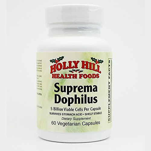 Holly Hill Health Foods, Suprema Dophilus (60 Vegetarian Capsules)