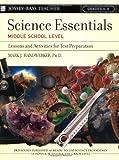 Science Essentials, Middle School Level, Mark J. Handwerker, 078797577X