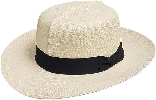ENGLISH OPTIMO Panama Hat Natural Straw Classic