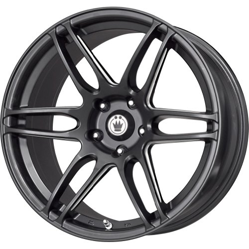 Konig Black Ball Cut Machined Wheel