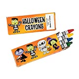 Halloween Crayons Party Favor Packs - 36 packs