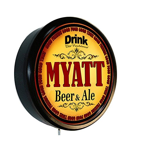 Myatt Beer And Ale Cerveza Lighted Wall Sign