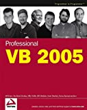 img - for Professional VB 2005 book / textbook / text book
