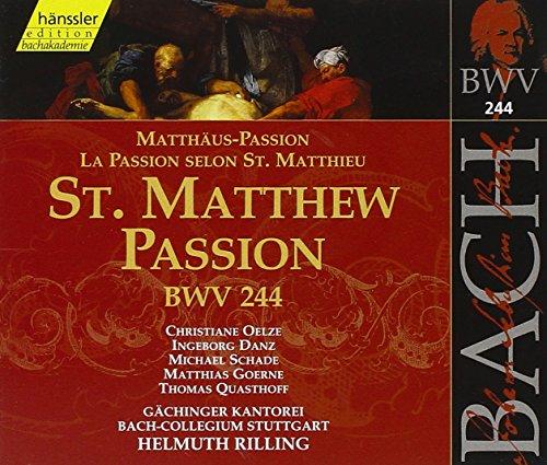 Bach: St. Matthew Passion ()