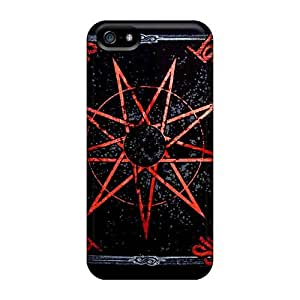 Anti-Scratch Hard Phone Covers For Iphone 5/5s With Custom Lifelike Motorhead Band Series JasonPelletier